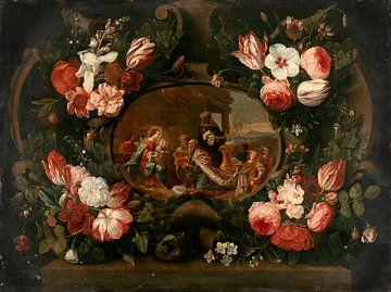 Anbetung der Heiligen Drei Könige, Jan Van Kessel