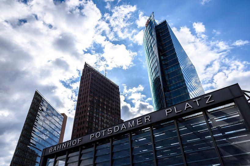 Skyline de la Potsdamer Platz sur Frank Herrmann