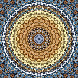 Mandala Golden October