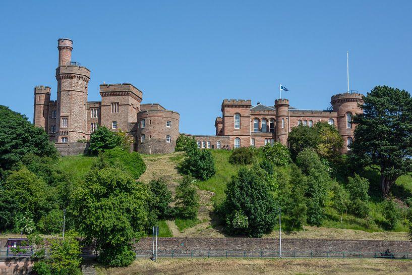 Inverness Castle in Schotland van Arja Schrijver Fotografie
