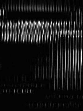 Industrieller Abstrakt in Schwarz und Weiß von Maurice Dawson