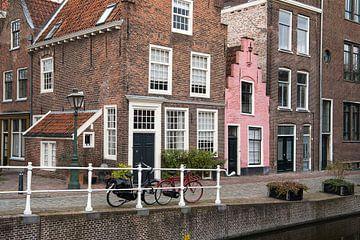 Groenhazengracht in Leiden von Elles Rijsdijk