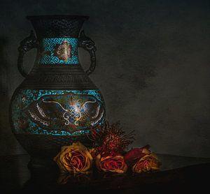 Oma's vaas..... van Miriam Meijer, en plein campagne.....