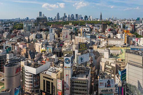 Tokyo Panorama von Tom Uhlenberg