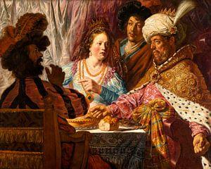 Das Fest der Esther, Jan Lievens