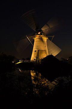 De draaiende molen van Petra Brouwer