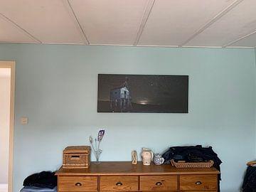 Kundenfoto: Drenkelingenhuisje Terschelling in der Nacht von Peter Slagboom