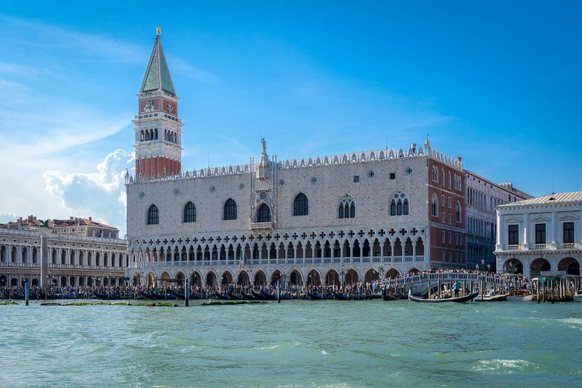 Dogepaleis in Venetië van Michel van Kooten