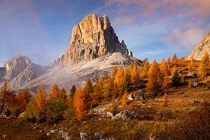 Gouden Dolomieten Landschap, Italië