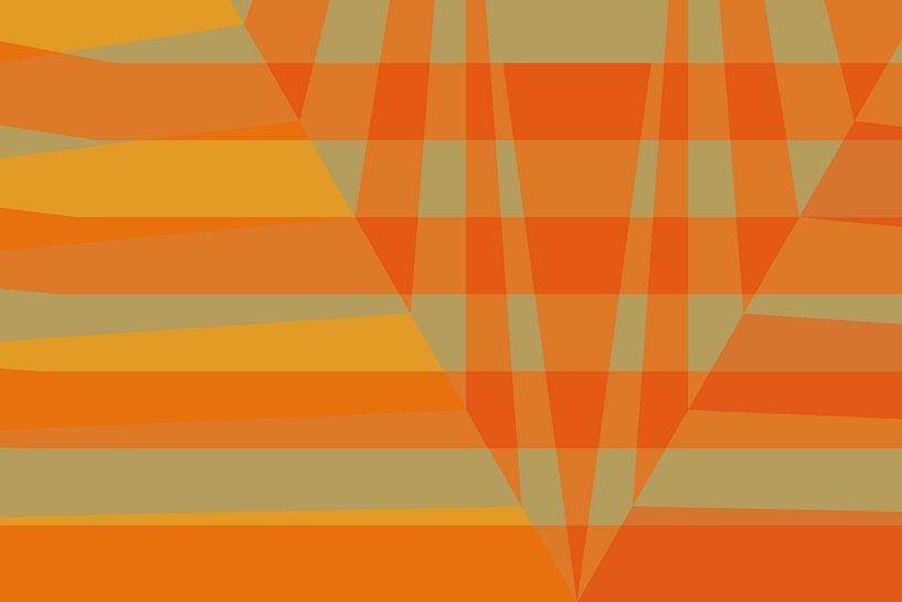 Fragment géométrique 09-1 van Ramon Schellevis