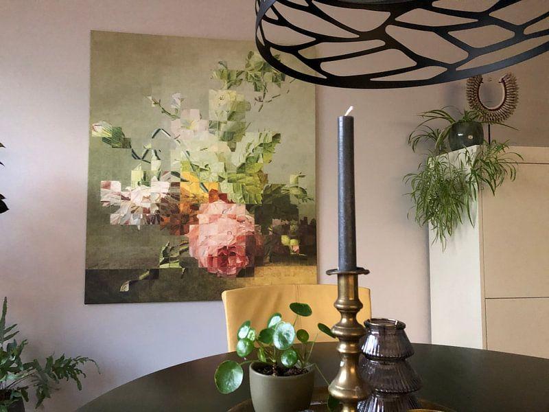 Klantfoto: Mozaïek van een stilleven (VT Wonen & Design Beurs 2019) van Marja van den Hurk