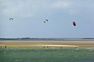 Kitesurfers Terschelling von Jessica Berendsen