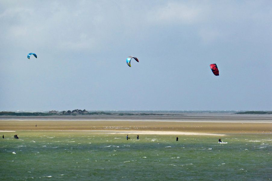 Kitesurfen op Terschelling