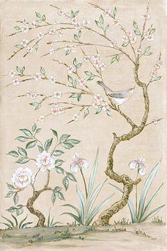 Veer muurschildering ik tan, Julia Purinton van Wild Apple