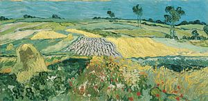 De vlakte van Auvers, Vincent van Gogh