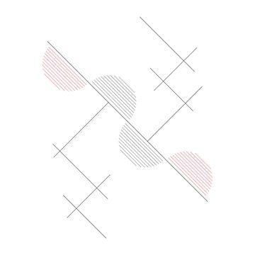 Abstracte, Geometrische Compositie van MDRN HOME