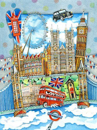 London - Europa für Kinder von Atelier BuntePunkt