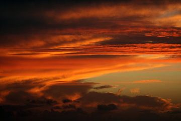 Ondergaande zon von Jolanta Mayerberg