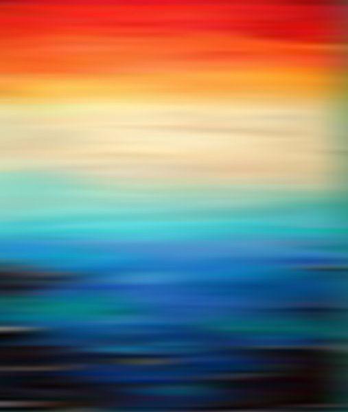 Paysage Abstrait 11 van Angel Estevez