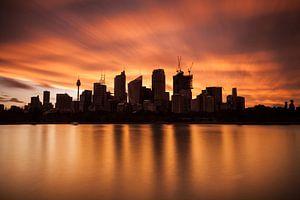 Sydney Skyline CBD van Jiri Viehmann