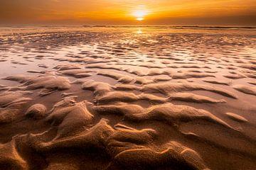 Structures de plage sur Texel
