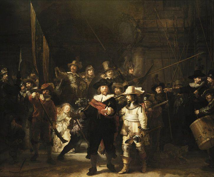 Die Nachtwache, Rembrandt van Rijn von Rembrandt van Rijn