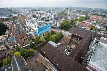 Uitzicht vanaf de Neudeflat op de binnenstad van Utrecht von De Utrechtse Internet Courant (DUIC)