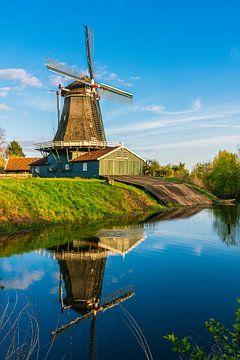 De Bolwerksmolen bij Deventer van Coen Weesjes