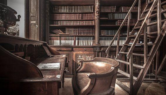 The old library van Olivier Van Cauwelaert