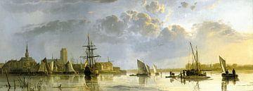 Blick auf Dordrecht von Norden, Aelbert Cuyp