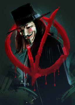 V für Vendetta von Nikita Abakumov