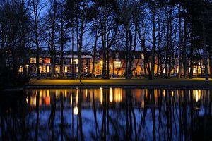 De Koningslaan langs het Wilhelminapark in Utrecht
