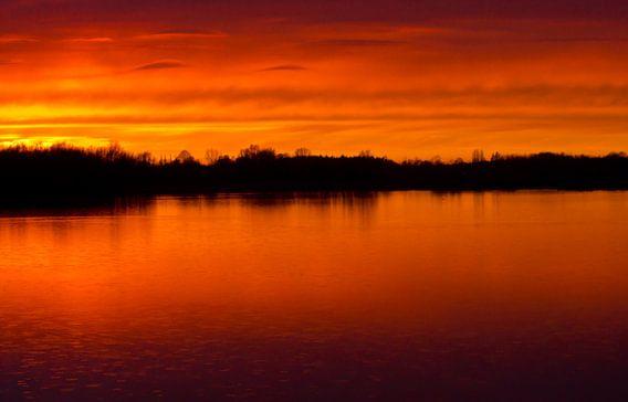 Sunset van Anne Koop