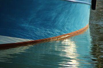 Vissersboot sur