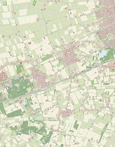 Kaart vanMaasdonk