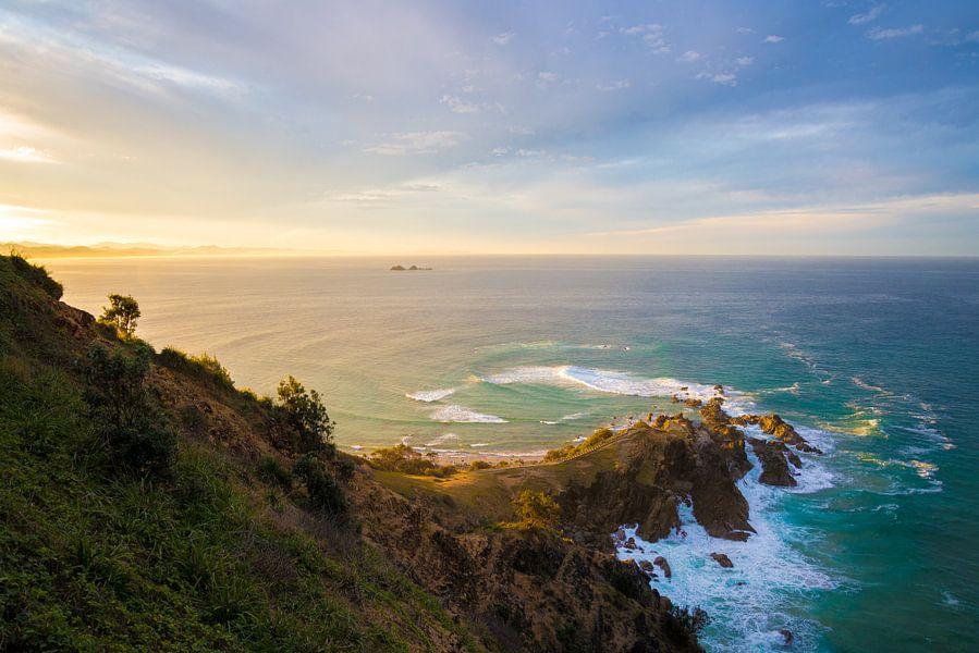 Byron Bay lookout van Victor van Galen
