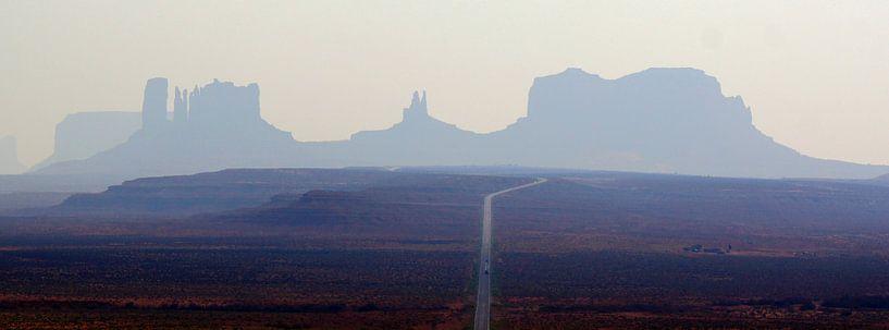 Monument Valley van Michiel Heuveling