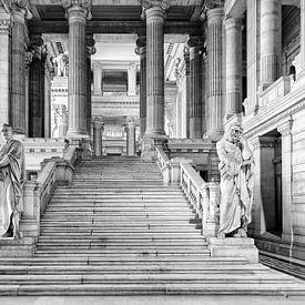 Justitiepaleis van Brussel von Don Fonzarelli