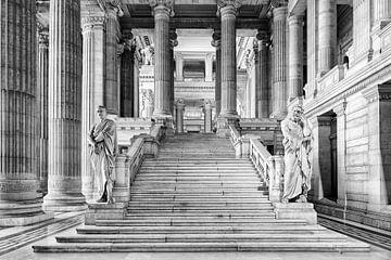Justitiepaleis van Brussel van Don Fonzarelli