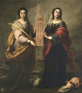 Saint Juste und Saint Rufine, Bartolomé Esteban Murillo