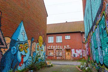 Geisterstadt Doel (Antwerpen): Kunst auf der Straße von Martijn Mureau