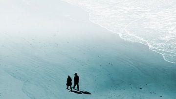 Twee op het strand van Kirsten Warner