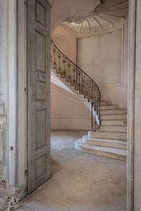 De roze trap van Lien Hilke