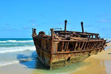 SS Maheno shipwreck von Victor Droogh