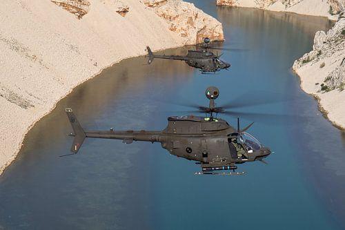 Kroatische Luchtmacht OH-58D Kiowa Warriors van Dirk Jan de Ridder
