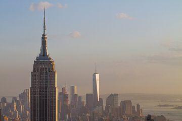 New York City Skyline van Robin Hartog