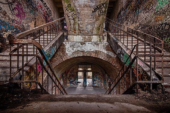 De trap naar.....