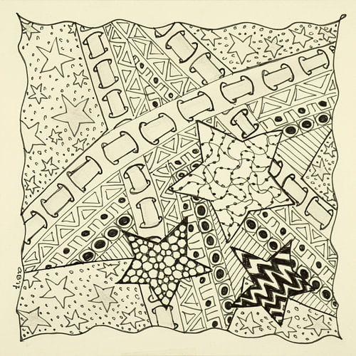 Zentangle Kunst van