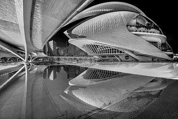 La ville espagnole de Valence et l'architecture moderne sur Harrie Muis