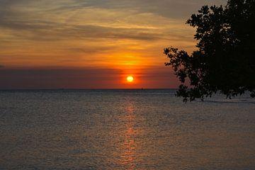 Zonsondergang van Ron Steens